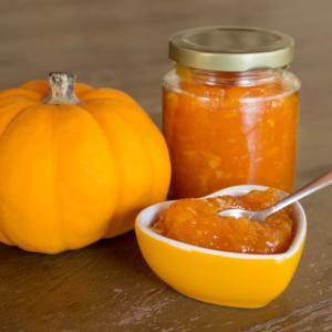 Mermelada de calabaza, naranja y canela