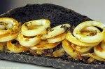 Bocata de calamares con pan negro