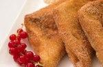 Pañuelos de pan o torrijas rellenas de crema