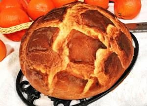 Pan de naranja